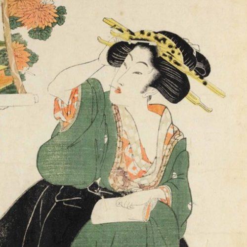 Xilografia di Kikugawa Eizan